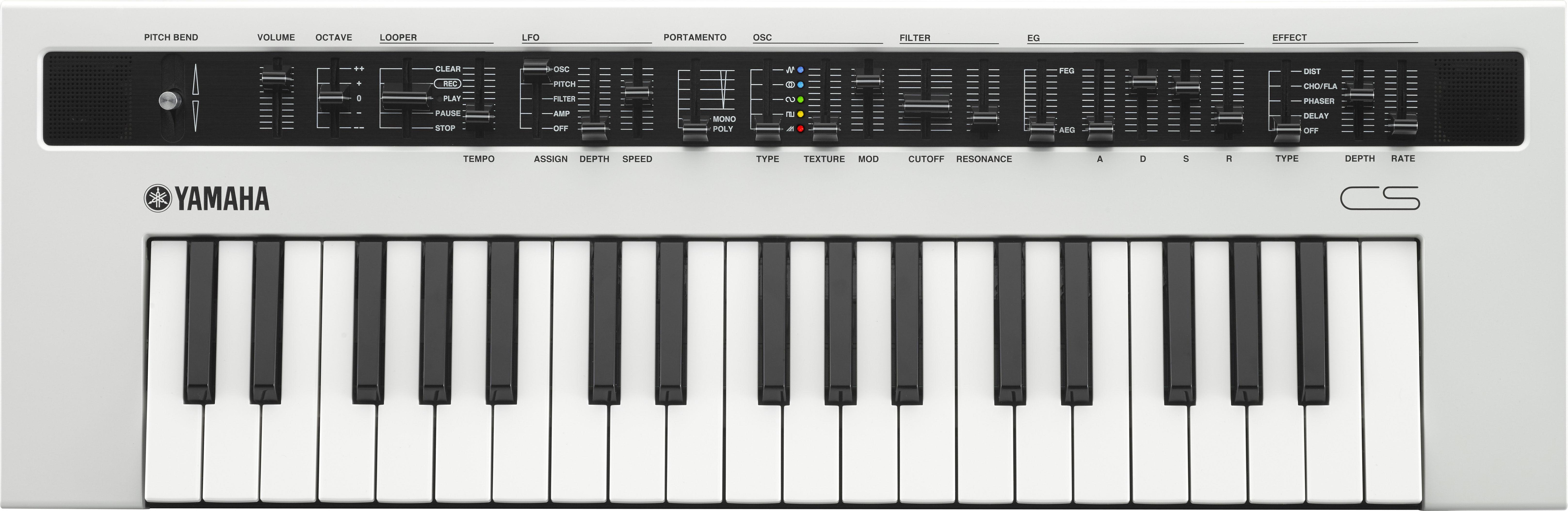 Синтезатор Yamaha Reface CS: фото
