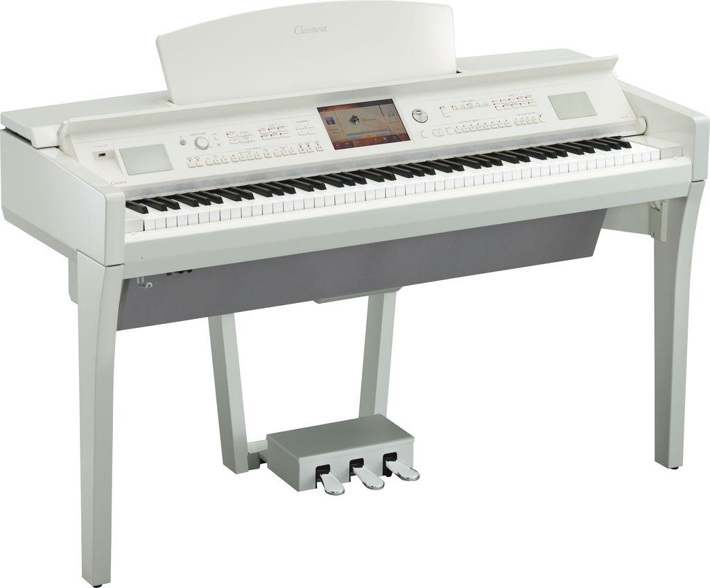 Цифровое пианино Yamaha CVP-709PWH: фото