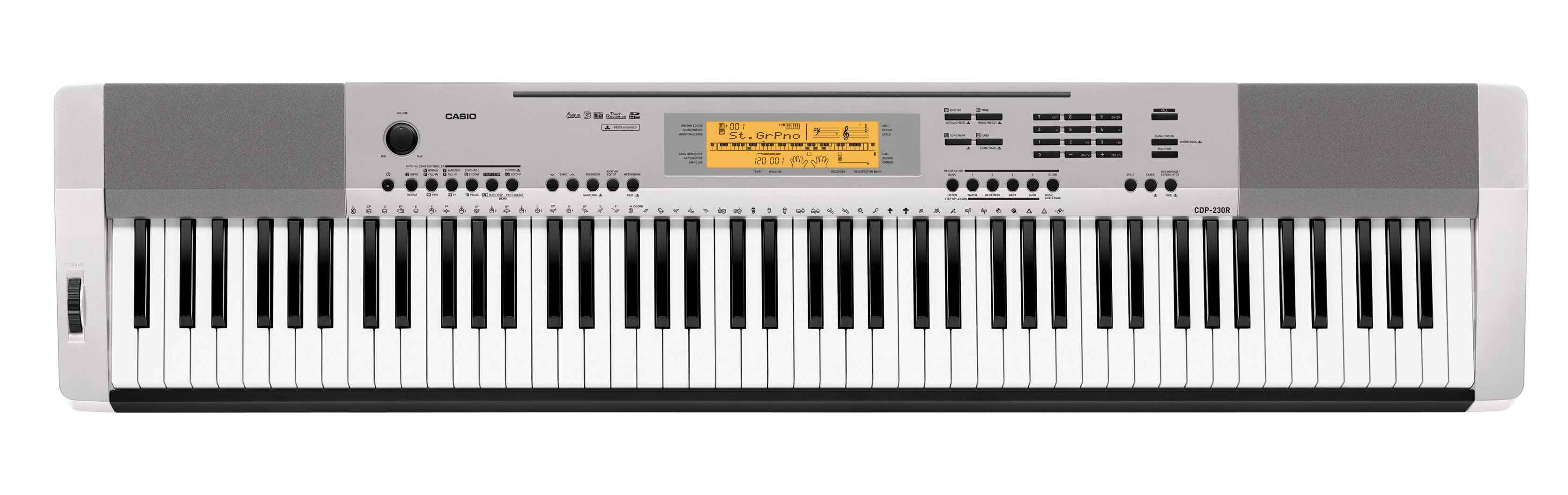 Цифровое пианино Casio CDP-230RSR: фото