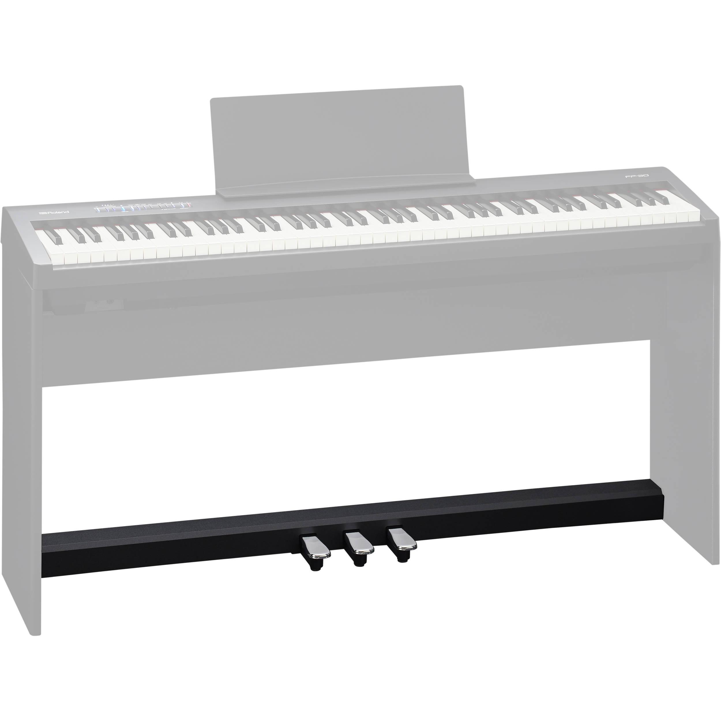 Педали для цифрового пианино Roland KPD-70-BK: фото