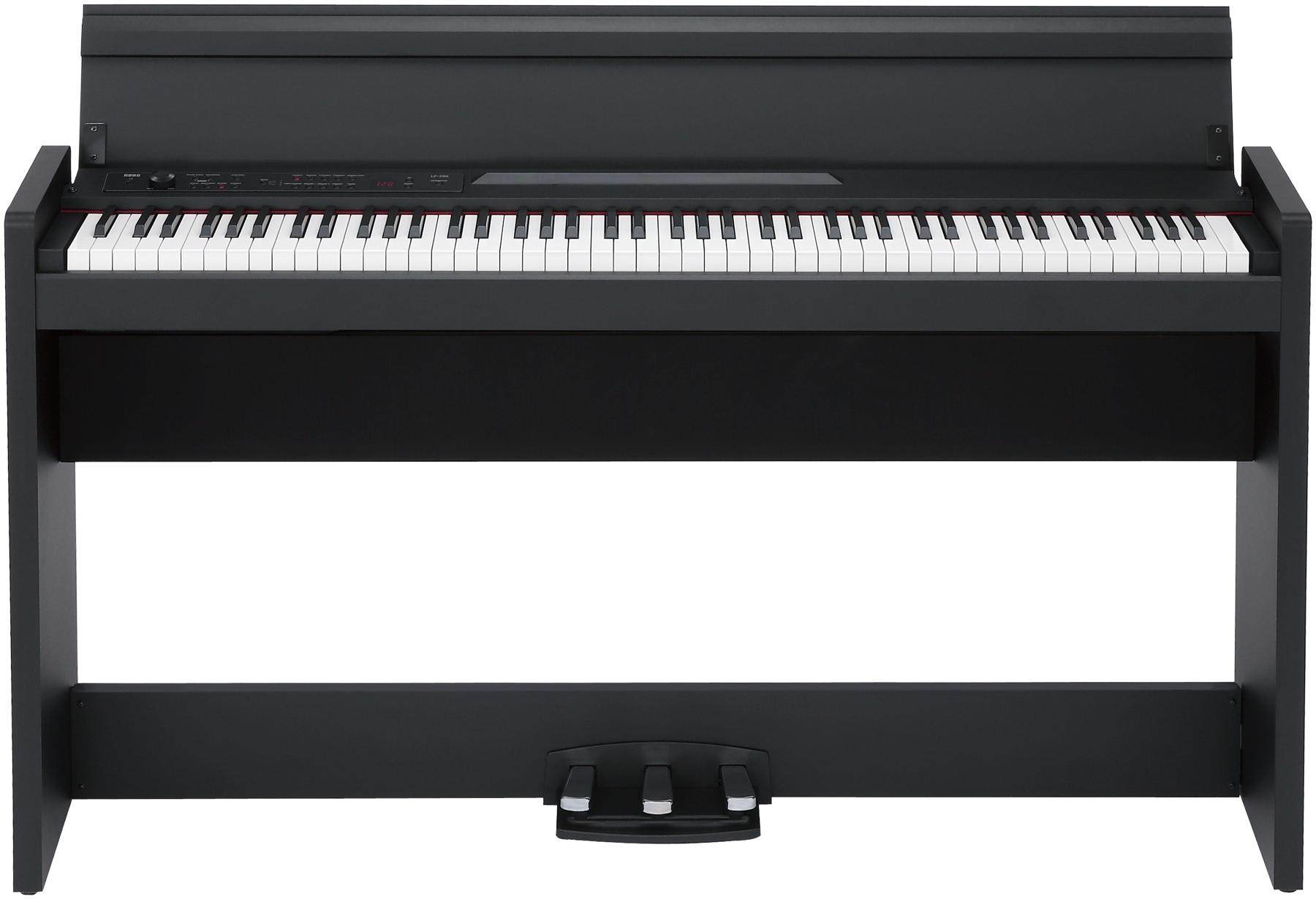 Цифровое пианино Korg LP-380BK: фото